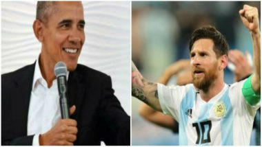 Former US President Barack Obama Offered World Cup-Winning Advice to Lionel Messi