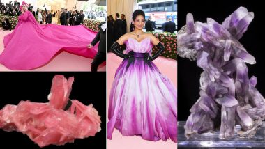 Met Gala 2019 Outfits of Everyone From Lady Gaga to Lilly Singh Re-Imagined As Minerals on Twitter Thread (See Pics)