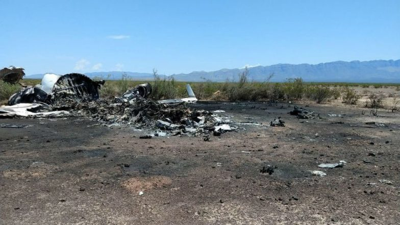 Mexico Jet Crash: 13 Aboard Killed After Jet Leaving Las Vegas Crashes Near Ocampo