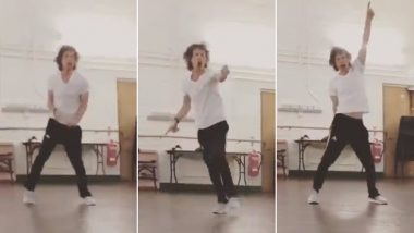 Mick Jagger's Crazy Dance Moves On Maroon 5's Hit Song Post Heart Surgery Is a True Treat for Fans (Watch Video)