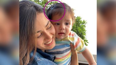 Mira Rajput's Pic With Son Zain Kapoor Is Adorable, but Those Tic Tac Hair Clips on the Toddler Is Making Netizens Go Gaga