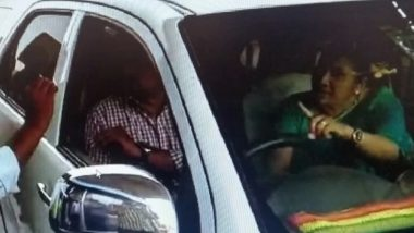Toll Plaza VIPgiri Continues: TDP MLA's Wife Misbehaves With Employee in Nalgonda, Creates Ruckus Over Payment of Rs 56