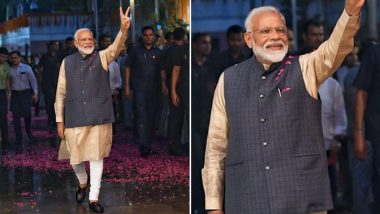 Narendra Modi Wins Lok Sabha Elections 2019! Modi GIFs, Whatsapp Stickers, Memes and Greetings to Congratulate the PM