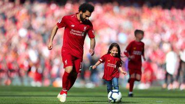 Mo Salah's Daughter Makka Salah Scores 'Final Goal' of Premier League 2018-19 Season! Watch Cute Video and Pics