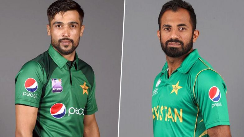 Wahab Riaz, Mohammad Amir and Asif Ali Included in Pakistan 15-Man Squad for ICC Cricket World Cup 2019