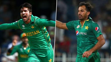 Pakistan Final Squad for ICC Cricket World Cup 2019: Mohammad Amir, Wahab Riaz and Asif Ali Included for CWC