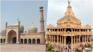 Hindu-Muslim Bonhomie on Display in Uttar Pradesh, Jama Masjid Hosts Shiv Bhandara of Somnath Mandir in Premises