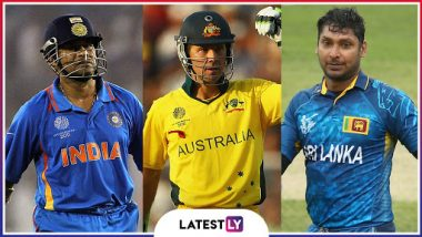 Most Player Appearances at Cricket World Cups: Ahead of CWC 19, Here's a List of Top-10 Cricketers Who Have Played Most Number of Matches