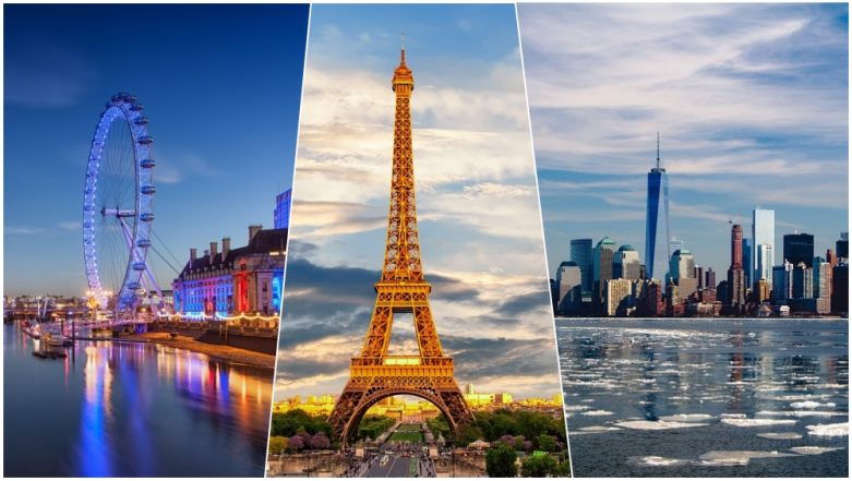 Top 50 Instagrammed Destinations in The World 2019: While London, Paris and New York Take The Top 3 Slots, Mumbai Ranks 2nd For Couple Photos