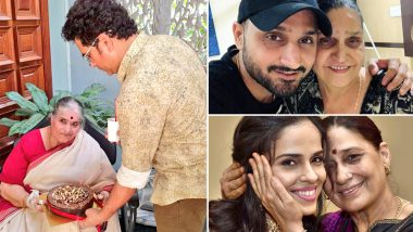 Mother's Day 2019: Sports Stars Sachin Tendulkar, Harbhajan Singh, Saina Nehwal and Many Others Posts 'Happy Mother's Day' Message on Social Media (View Pics)