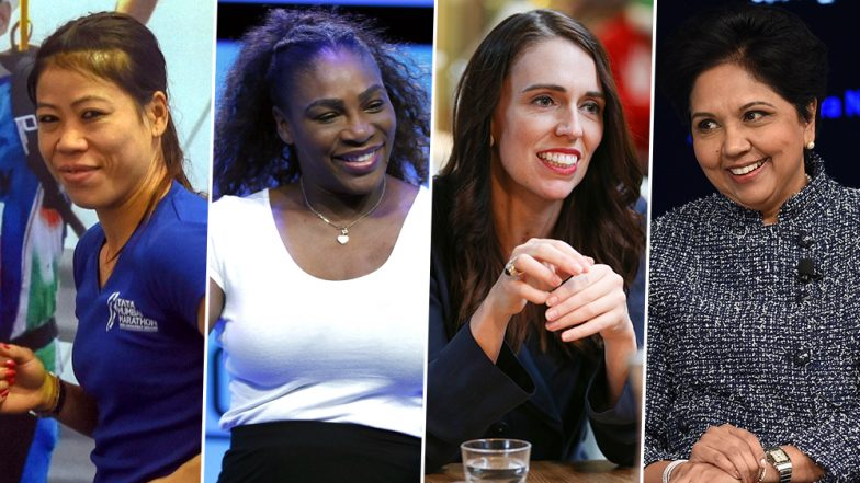 Mother's Day 2019: Mary Kom, Serena Williams, Indra Nooyi, Jacinda Arden and Other Inspiring Moms Around the World