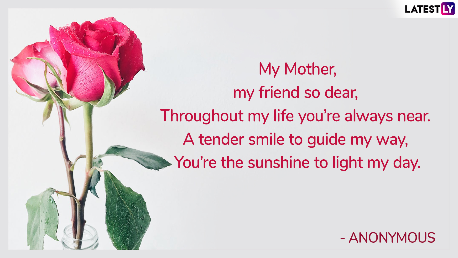 Mother's Day 2019 Poems & Images: WhatsApp Stickers, Quotes