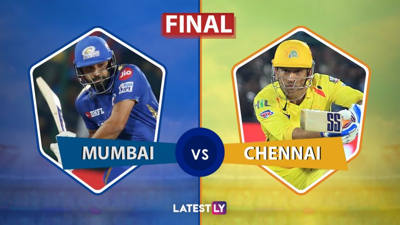 MI vs CSK, IPL 2019 Final Live Cricket Streaming: Watch Free Telecast of Mumbai Indians vs Chennai Super Kings on Star Sports and Hotstar Online