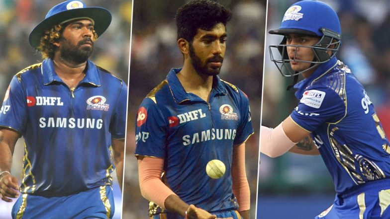 MI vs CSK IPL 2019 Final: Mumbai Indians Cricketers Jasprit Bumrah, Lasith Malinga, Ishan Kishan and Other Team Members Celebrate in a Unique Style After Defeating Chennai Super Kings (Watch Video)