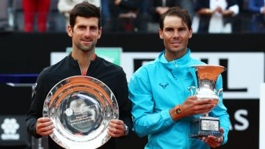 Rafael Nadal Beats Novak Djokovic in Italian Open 2019 Final, Claims Record 34th ATP Masters 1000 Title