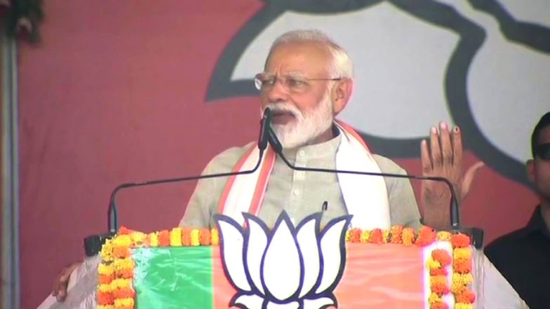 Narendra Modi Trains Guns at Opposition After Forces Kill 2 Militants in Kashmir, Says 'They Will Question Why Modi Killed Terrorists During Polling'
