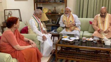 Narendra Modi, Amit Shah meet BJP Veterans LK Advani and Murli Manohar Joshi After Massive Victory in 2019 Lok Sabha Elections