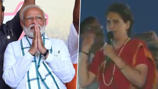 Priyanka Gandhi Mocks PM Narendra Modi on 'Radar Me Nahi Aayenge' Row, Claims He Is Under People's Radar