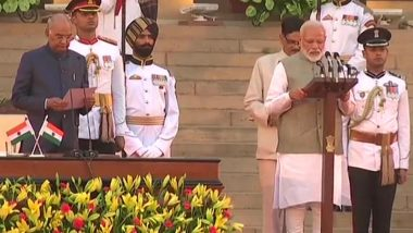 Narendra Modi Cabinet 2.0 Swearing-In: Kins of BJP Workers Killed in West Bengal and Pulwama Martyrs Attend the Ceremony