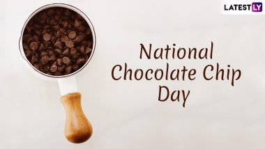 National Chocolate Chip Day 2019: Easy Way to Make Choco Chips at Home and Things That Can Be Made Ten Times Better With These Little Treats! (Watch Recipe Video)