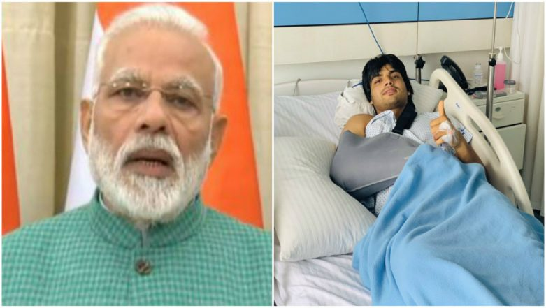 PM Narendra Modi Prays For Javelin Thrower Neeraj Chopra's Quick Recovery