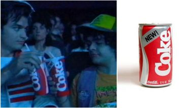 Stranger Things 3 Brings Back 'New' Coke After 34 Years Thanks to Tie-Up With Beverage Company (Watch Video)