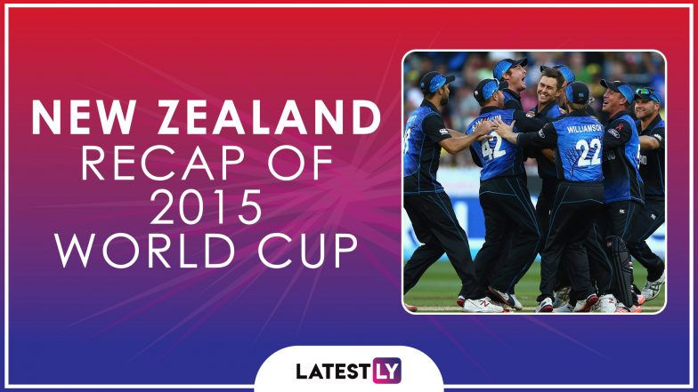 Ahead of ICC Cricket World Cup 2019, Here's a Look Back at How New Zealand Fared at the Last Edition of the CWC