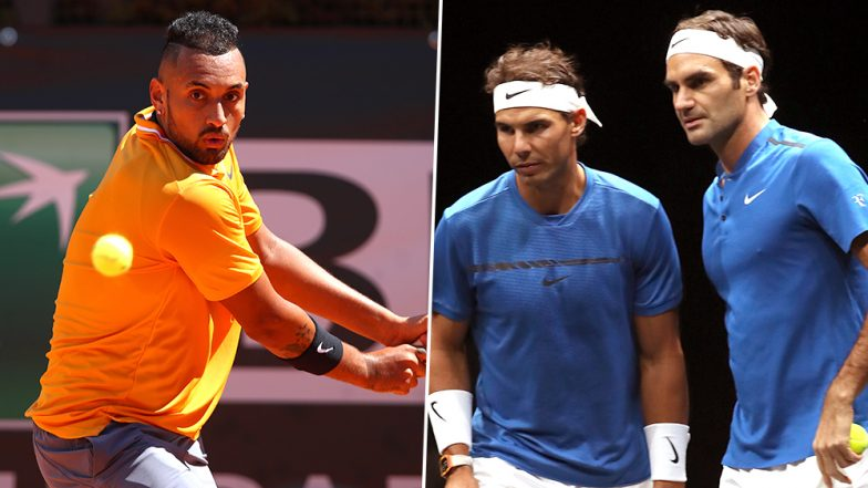 Nick Kyrgios Plays Tennis' Enfant Terrible Role to Perfection: From Nasty Comments on Federer, Nadal and Djokovic to Hurling Chair at Italian Open, He Does It All