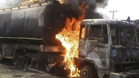 Nigeria Oil Tanker Explosion: 55 Killed, 37 Injured in Tanker Truck Explosion Near Niamey