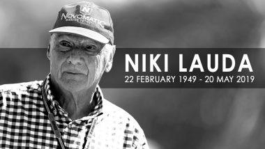 Niki Lauda, Formula 1 Legend from Austria Dies Aged 70