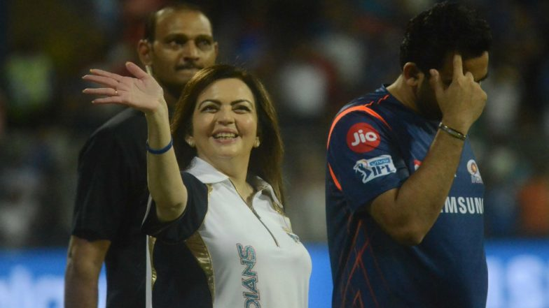 Nita Ambani Thanks Akash For 'Best Mother's Day Gift' After Mumbai Indians Win IPL 2019 Final Against Chennai Super Kings
