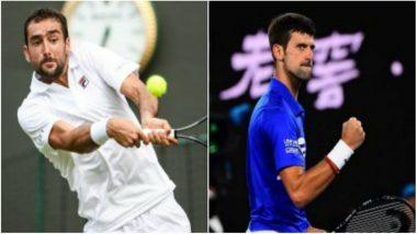 Madrid Open 2019: Marin Cilic Withdraws Before Match, Novak Djokovic Progresses to Semi-Finals