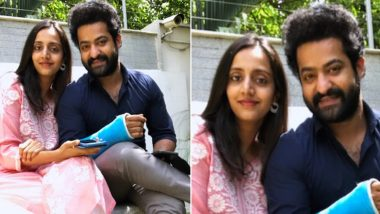 Jr NTR Wishes His Wife Pranathi a Happy 8 Years Marriage Anniversary, RRR Actor Shares a Picture of the Happy Couple – View Pic