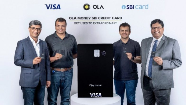 Ola Launches Visa-Powered Credit Card in Partnership With SBI, Targets 10 Million Cards by 2022