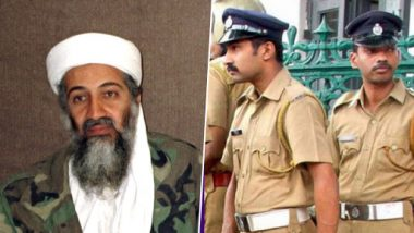 Kerala Police Seize Car With Sticker of Osama Bin Laden's Face in Kollam, Initiates Probe