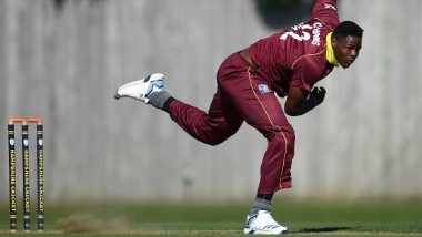 Oshane Thomas, West Indies Pacer, Escapes Serious Injury in Car Accident in Jamaica