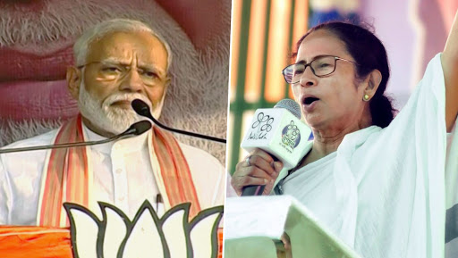 PM Narendra Modi and West Bengal CM Mamata Banerjee Likely to Share Dais in Kolkata