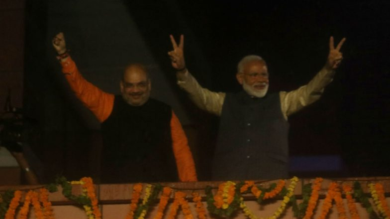 Lok Sabha Elections Results 2019: BJP Gets Full Majority, Set to Cross 300-Mark, Congress Improves Tally to 52