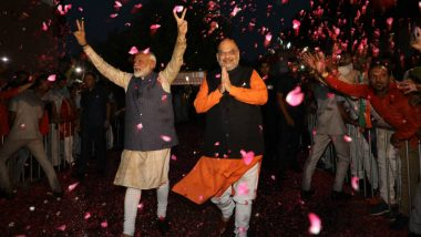 Amit Shah to be Home Minister? PM Narendra Modi May Induct New Faces in Union Cabinet; Here's Who May Make It to The List