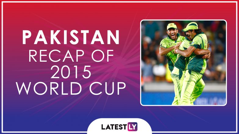 Ahead of ICC Cricket World Cup 2019, Here's a Look Back at How Pakistan Fared at the Last Edition of the CWC