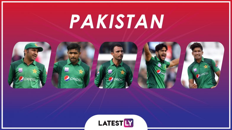 ICC Cricket World Cup 2019: Sarfaraz Ahmed, Babar Azam and Other Key Players in the Pakistan Team for CWC