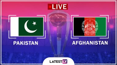 Live Cricket Streaming of Pakistan vs Afghanistan ICC World