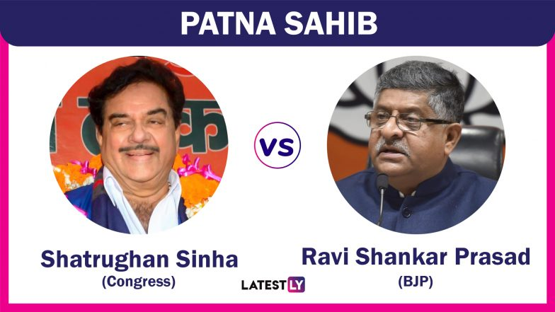 Patna Sahib Lok Sabha Constituency in Bihar Live Results 2019: Leading Candidates From The Seat, 2014 Winning MP And More