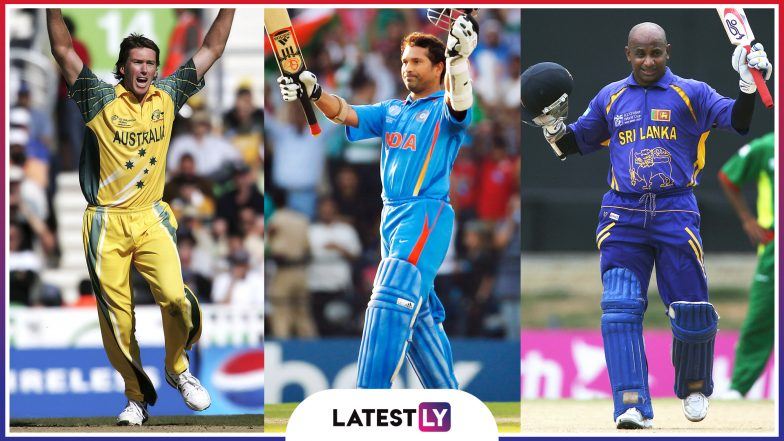 ICC Cricket World Cup 2019: Check out the List of Cricketers Who Walked Away With Player of the Tournament Trophy Across All Editions