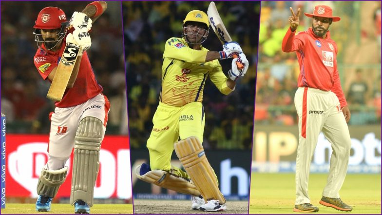 KXIP vs CSK, IPL 2019 Match 55, Key Players: MS Dhoni, KL Rahul, Chris Gayle And Other Cricketers to Watch Out for at PCA Stadium
