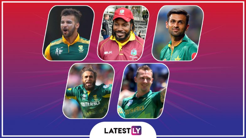 Players Who May Retire After ICC Cricket World Cup 2019: Chris Gayle, Imran Tahir, Shoaib Malik to Bid Adieu to ODI Career Post CWC19