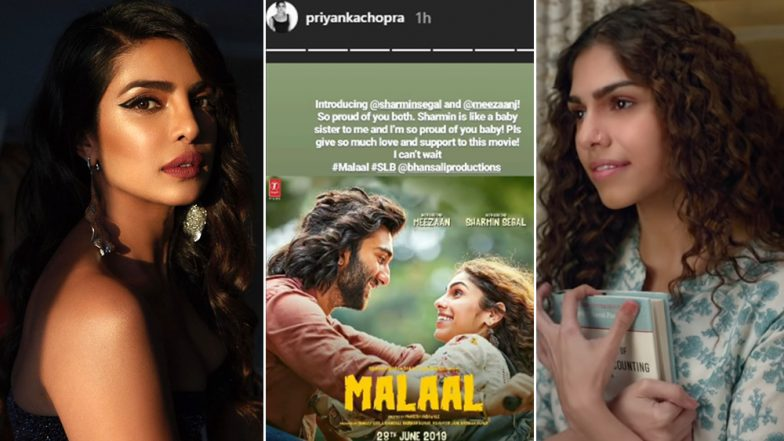 'Sharmin Segal Is Like a Baby Sister to Me', Says Priyanka Chopra Jonas About Malaal Actress