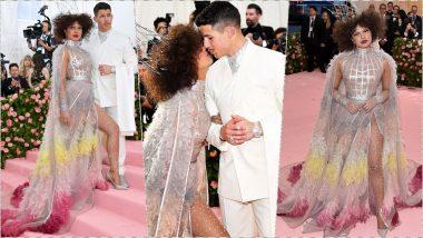 Priyanka Chopra Jonas and Hubby Nick Go Whimsical at MET Gala 2019 Red Carpet in Dior Ensembles (View Pics)