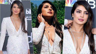 Priyanka Chopra Jonas Wore Jewellery Worth Rs 1.8 Crore on Billboard Music Awards 2019 Red Carpet! View Pics