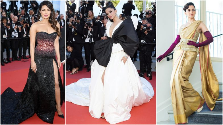 Priyanka Chopra, Deepika Padukone Or Kangana Ranaut - Who Rocked Their Cannes Film Festival's First Red Carpet 2019 Look?